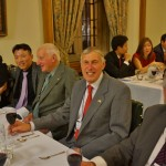 Junghee Seo, Sanghyoun Park, Terry Smith, Roger Finch and Peter Poole