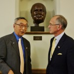 KBS member Choon Kyung Lee with Chairman Warwick Morris