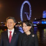 Ambassador Hwang and Mrs Shil Rhee