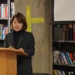 Bursary recipient Kyoung-mi Kim