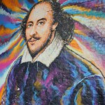 Shakespeare mural in Clink Street tunnel