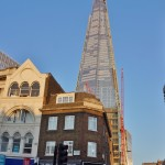 The Shard in the evening sunshine