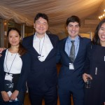 Regina Gurung, Marcel Lee, Robert Songhurst and committee member Juyoung Yoon