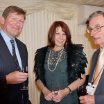 Robert Shaw, Sue King and committee member Ian Simm